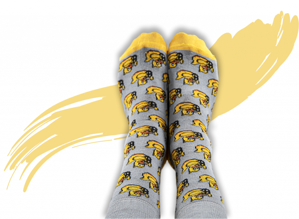 Custom Branded Socks for DUCKIETOWN