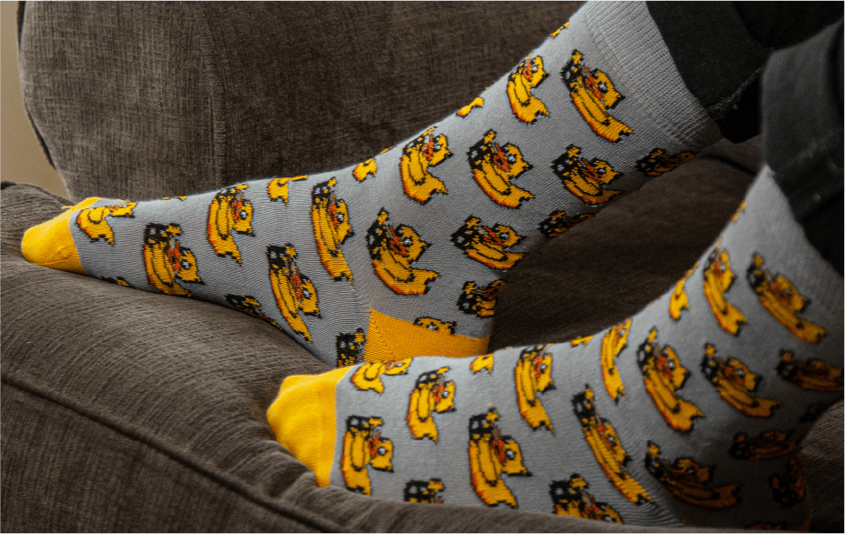 Featured Custom Branded Socks for DUCKIETOWN