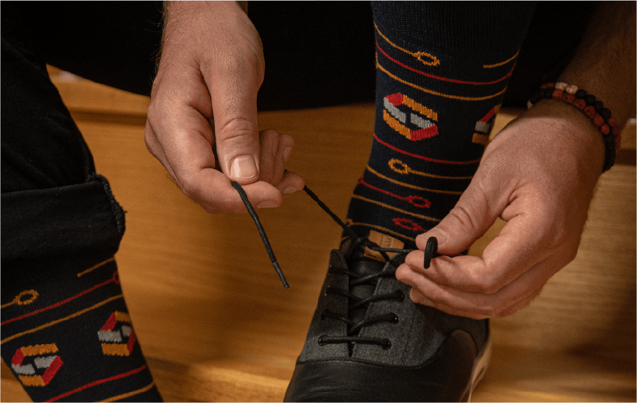 Featured Custom Branded Socks for SCANSOURCE